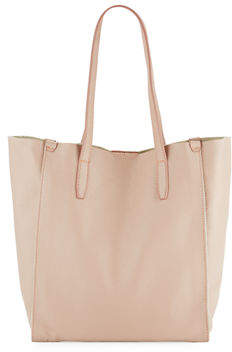 Neiman Marcus Pebbled Leather Tote Bag