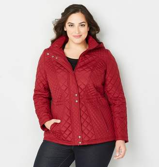 Avenue Quilted Anorak Jacket