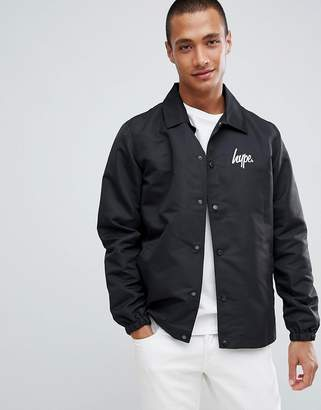 Hype logo coach jacket