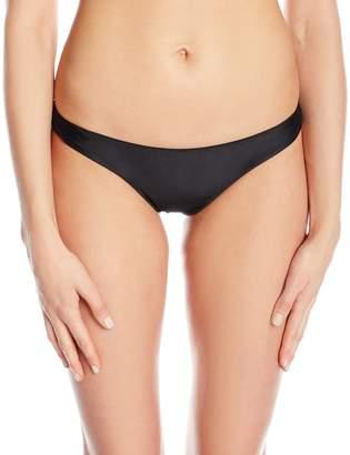 Vix Women's Solid Basic Cheeky Bikini Bottom