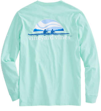 Vineyard Vines Long-Sleeve Rowing Pocket T-Shirt
