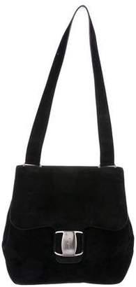 e590cb7686e2 Pre-Owned at TheRealReal · Salvatore Ferragamo Suede Shoulder Bag