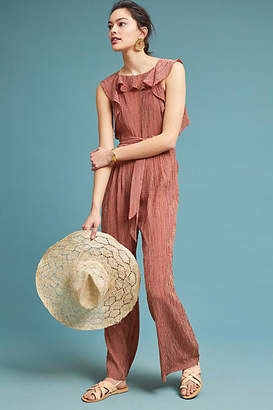 Eva Franco Terracotta Jumpsuit