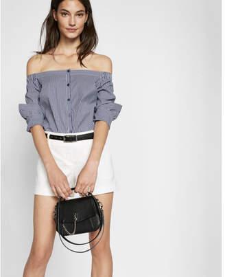 Express Linen-blend Short $49.90 thestylecure.com