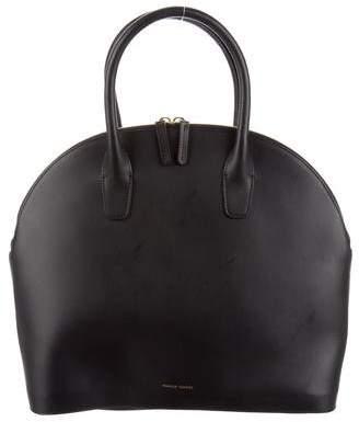 Mansur Gavriel Vegetable-Tanned Leather Handle Bag