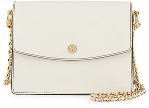 Tory Burch Parker Leather Convertible Shoulder Bag $395 thestylecure.com