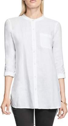 Vince Camuto Collarless Linen Shirt