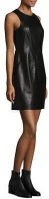 Rag & Bone Loxley Leather Shift Dress