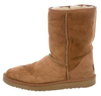 UGG Australia Suede Classic Short Boots $65 thestylecure.com