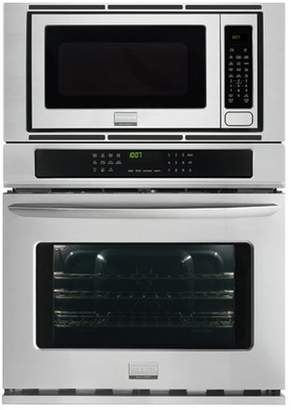 "Frigidaire Gallery 27"" Convection Electric Single Wall Oven with Built-In Microwave"