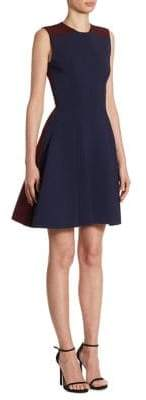 Victoria Beckham Paneled A-Line Dress