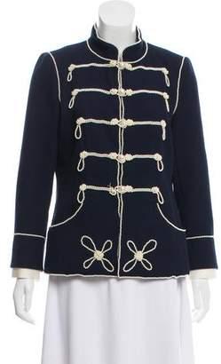 Chanel Embellished Military Jacket