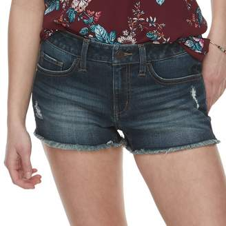 So Juniors' SO Low-Rise Frayed Hem Shorts