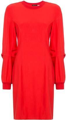 Josie Natori long-sleeve shift dress
