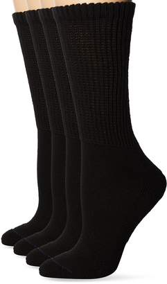 Dr. Scholl's Women's 2 Pack Diabetes and Compression Crew Socks
