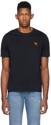 Paul Smith Navy Zebra Scribble T-Shirt