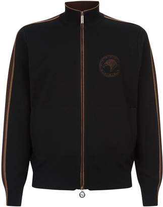 Stefano Ricci Knitted Eagle Chest Jacket