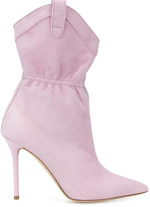 Malone Souliers pointed toe boots