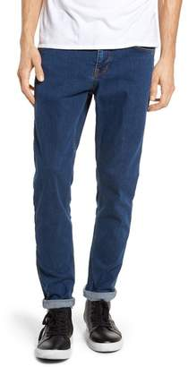 Denim & Supply Ralph Lauren Dr. Denim Supply Co Clark Slim Straight Leg Jeans (Superlight Blue Ripped)