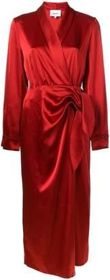 Nanushka Ezra wrap dress
