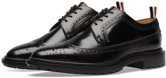 Thom Browne Classic Rubber Sole Long Wing Brogue