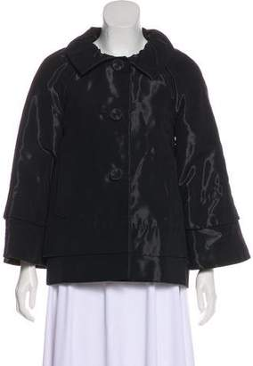 Alberta Ferretti Collared Evening Jacket