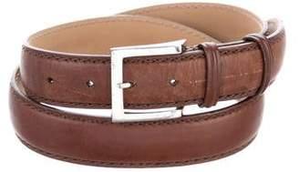 Franck Namani Leather Waist Belt