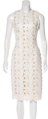 Alice + Olivia Sleeveless Midi Dress w/ Tags