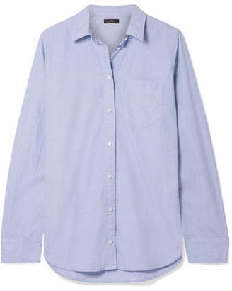 J.Crew Boy Cotton Shirt - Blue