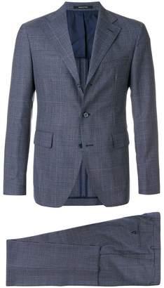 Tagliatore check pattern suit