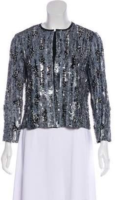 Giambattista Valli Embellished Silk Jacket w/ Tags