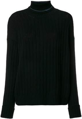 Prada cashmere roll neck jumper