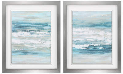 Wayfair At The Shore 2 Piece Framed Painting Print Set