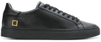 D.A.T.E monochrome lace-up sneakers