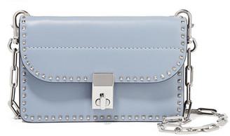 The Rockstud Mini Shoulder Bag - Sky blue