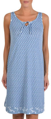 CLAUDEL Floral-Print Nightgown