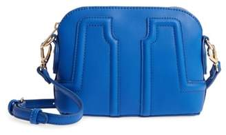 Sole Society Structured Faux Leather Dome Crossbody