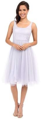 Donna Morgan Chantal Scoop Neck Tulle Dress Women's Dress