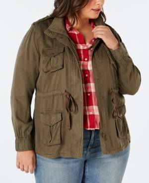 Style&Co. Style & Co Plus Size Cargo Jacket, Created for Macy's