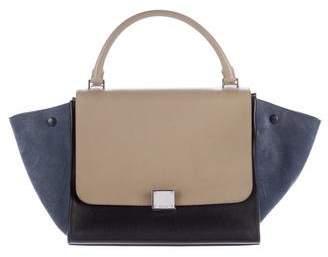 Céline Tricolor Medium Trapeze Bag
