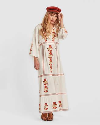 Willow White Maxi Dress
