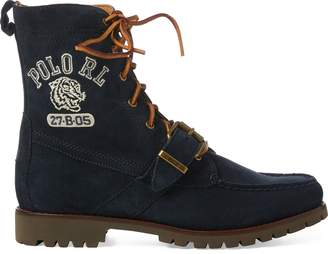 Ralph Lauren Ranger Polo Tiger Suede Boot