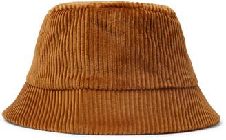 Séfr Cotton-Corduroy Bucket Hat - Men - Brown