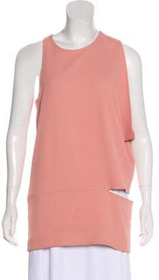 Nomia Sleeveless Asymmetrical Top