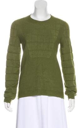 Chanel Paris-Shanghai Quilted Sweater
