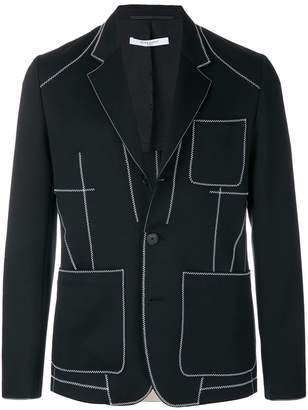 Givenchy embroidered blazer