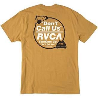 RVCA Men's Don't Call Us Short Sleeve T-Shirt