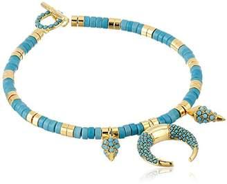 Noir Gold Indigo Bracelet