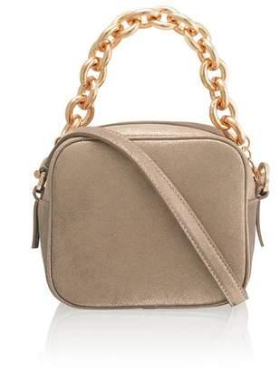 Amanda Wakeley Jackson Champagne Pochette Bag