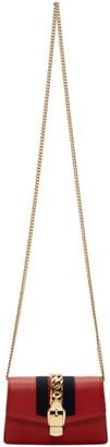 Gucci Red Mini Sylvie Chain Bag